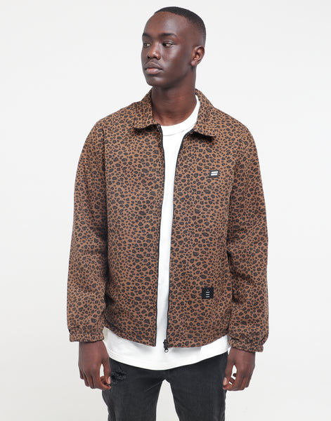 Jacket Mach Washed Thing Thing Leopard tsQhCrd