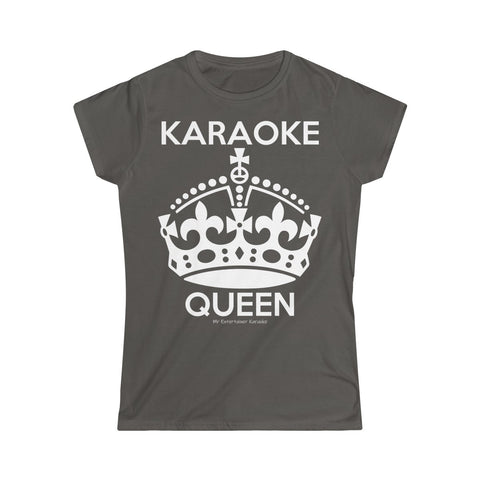 Karaoke Queen Women's Softstyle Tee