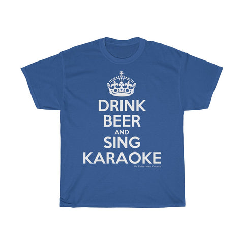 Drink Beer Unisex Heavy Cotton Tee