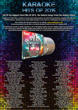 Mr Entertainer Karaoke Hits of 2015 - 100 Song 6 Disc CD+G Set