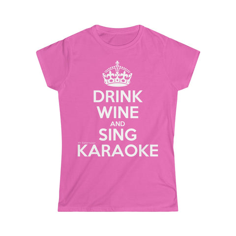 Drink Wine Women's Softstyle Tee