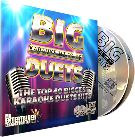 Mr Entertainer Big Karaoke Hits of Duets