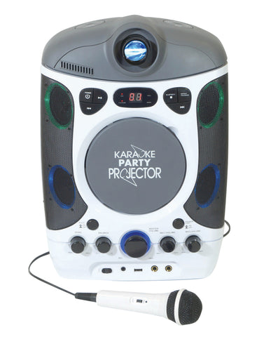 Mr Entertainer KAR124 Bluetooth Karaoke Machine with LED Projector