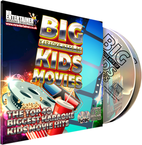 Mr Entertainer Big Karaoke Hits of Kids Movies
