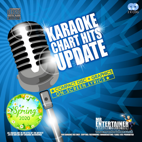 Mr Entertainer Karaoke Chart Hits Update - Spring 2020