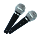 Mr Entertainer Karaoke Microphones (MKM222)