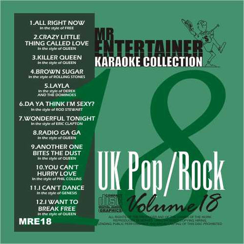 MRE18 - UK Pop/Rock