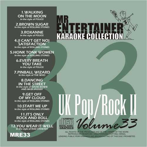 MRE33 - UK Pop/Rock 2