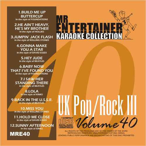 MRE40 - UK Pop Rock 3