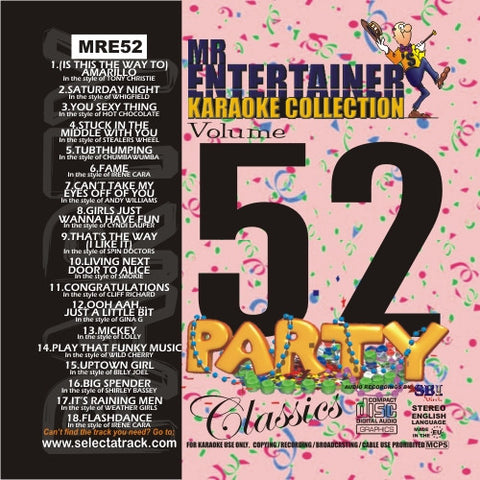 MRE52 - Party Classics