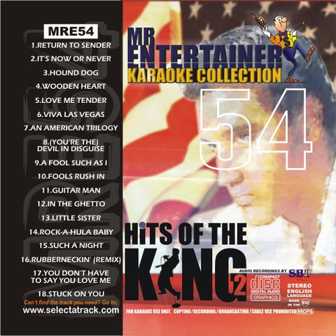 MRE54 - Hits of the King Vol. 2