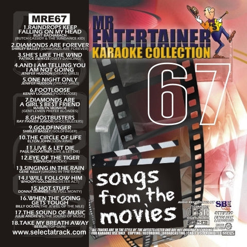 MRE67 - Songs From The Movies