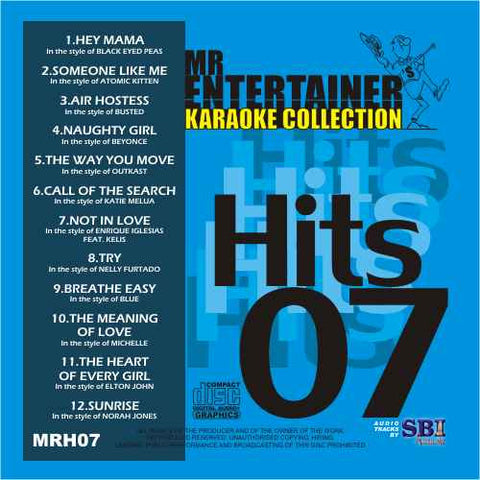 MRH007 - Chart Hits Volume 7  April 2004