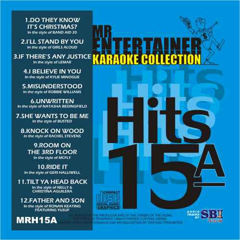 MRH015A - Chart Hits Volume 15A  December 2004