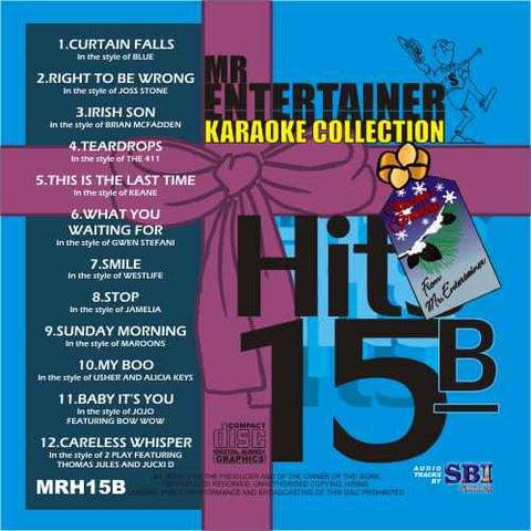 MRH015B - Chart Hits Volume 15B  December 2004