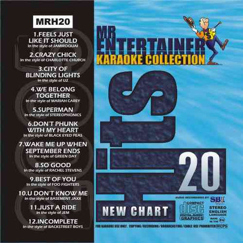 MRH020 - Chart Hits Volume 20  June 2005