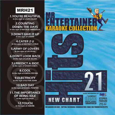 MRH021 - Chart Hits Volume 21  July/August 2005
