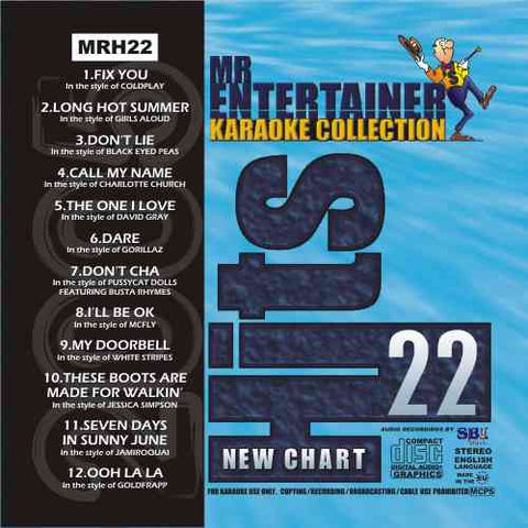 MRH022 - Chart Hits Volume 22  September 2005