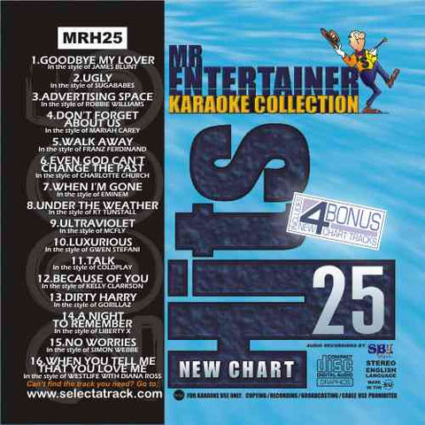 MRH025 - Chart Hits Volume 25  December 2005