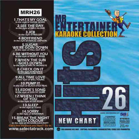 MRH026 - Chart Hits Volume 26  January 2006