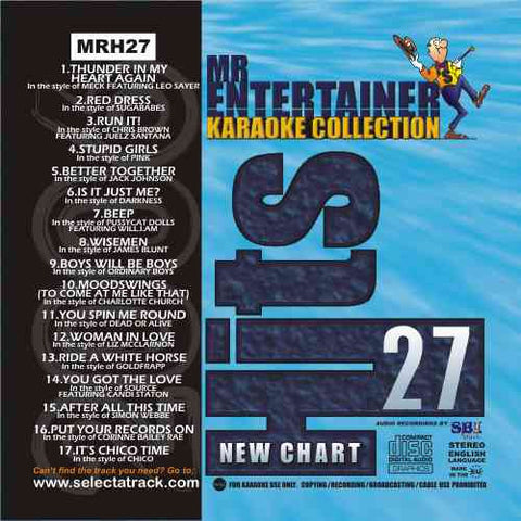 MRH027 - Chart Hits Volume 27  Feb/March 2006