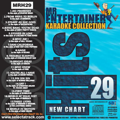 MRH029 - Chart Hits Volume 29  May 2006