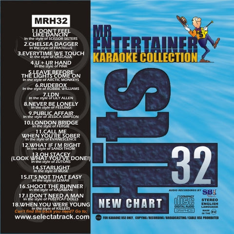 MRH032 - Chart Hits Volume 32  September 2006
