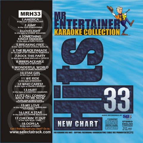 MRH033 - Chart Hits Volume 33  Oct/Nov 2006