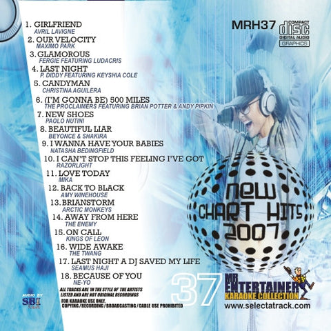 MRH037 - Chart Hits Volume 37  April 2007
