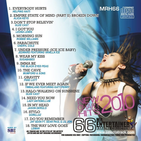 MRH066 - Chart Hits Volume 66  February 2010