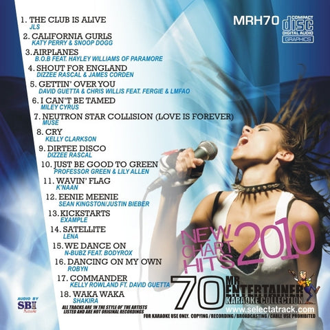 MRH070 - Chart Hits Volume 70  July 2010