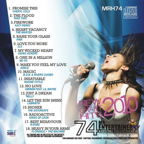 MRH074 - Chart Hits Volume 74  November 2010