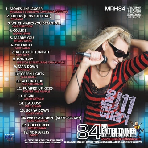 MRH084 - Chart Hits Volume 84  September 2011
