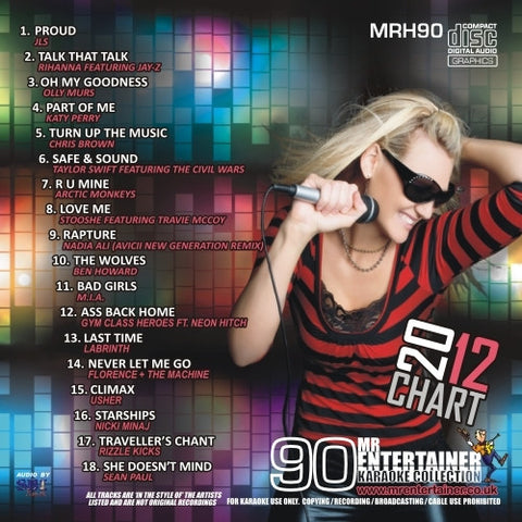 MRH090 - Chart Hits Volume 90  March 2012