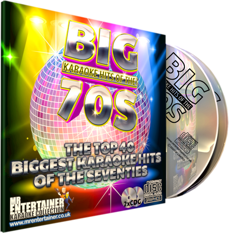 Mr Entertainer Big Karaoke Hits of the 70's (Refurbished)