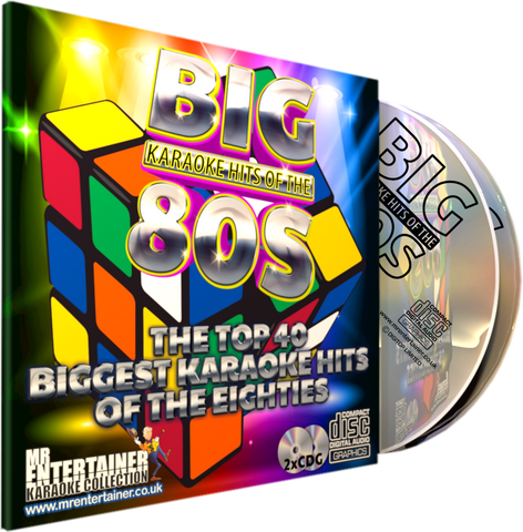 Mr Entertainer Big Karaoke Hits of the 80's