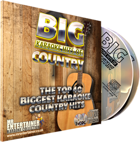 Mr Entertainer Big Karaoke Hits of Country (Refurbished)