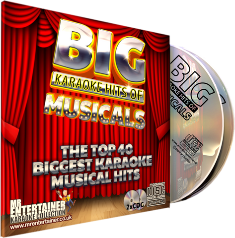 Mr Entertainer Big Karaoke Hits of Musicals