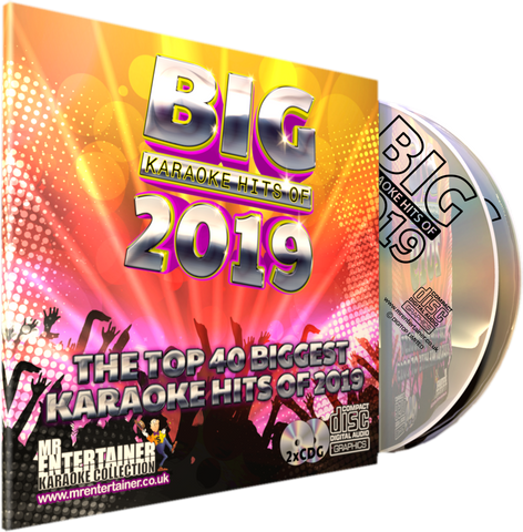 Mr Entertainer Big Karaoke Hits of 2019
