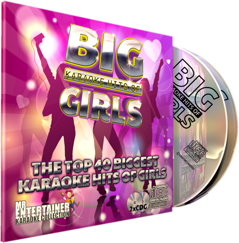 Mr Entertainer Big Karaoke Hits of Girls