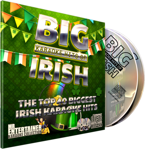 Mr Entertainer Big Karaoke Hits of Irish