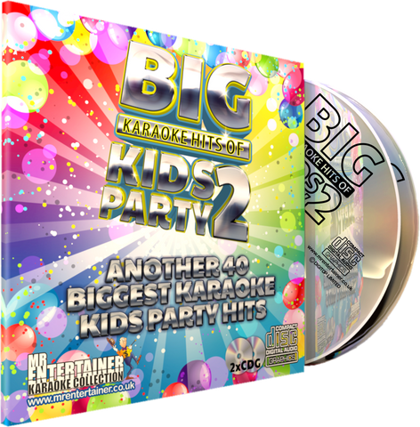 Mr Entertainer Big Karaoke Hits of Kids Party Vol. 2