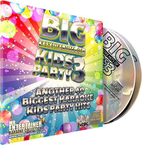 Mr Entertainer Big Karaoke Hits of Kids Party Vol. 3
