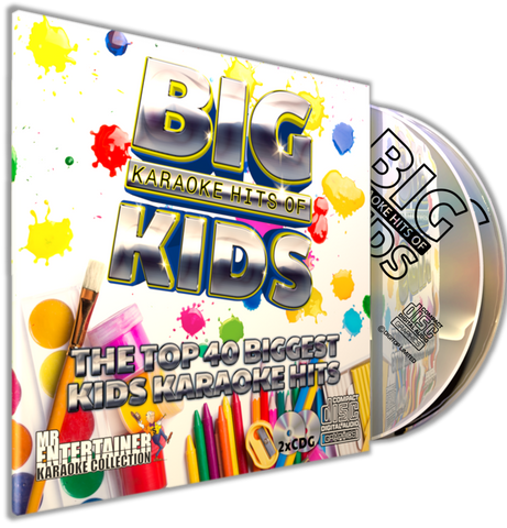 Mr Entertainer Big Karaoke Hits of Kids (Refurbished)