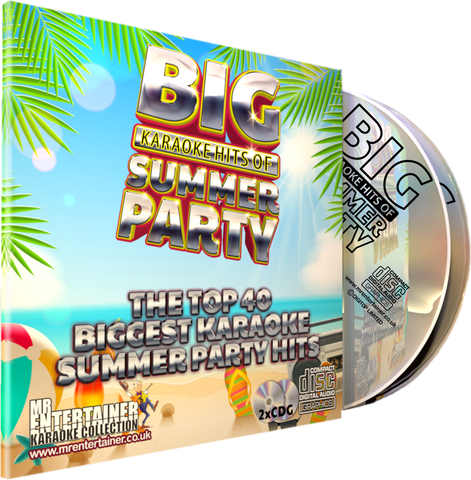 Mr Entertainer Big Karaoke Hits of Summer Party