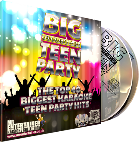 Mr Entertainer Big Karaoke Hits of Teen Party (Refurbished)