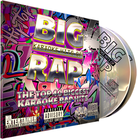 Mr Entertainer Big Karaoke Hits of Rap