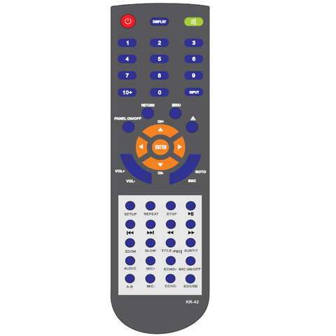 Mr Entertainer Partybox Replacement Remote Control