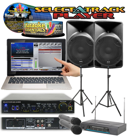 Touchscreen Complete Pro Karaoke Package