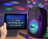 Touchscreen Tablet Karaoke Package